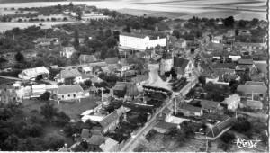 vue aérienne - 1950